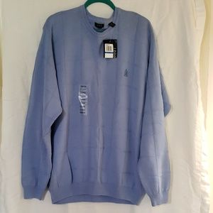 Izpd Men's Blue Sweater